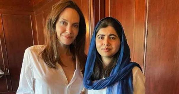 Malala Yousafzai praises Angelina Jolie