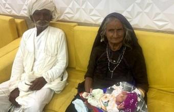 بھارت میں 70 سالہ خاتون کے ہاں بچے کی پیدائش