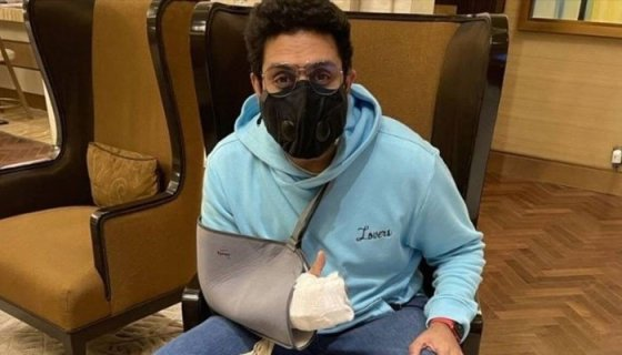 Abhishek Bachchan's Surgery Successful