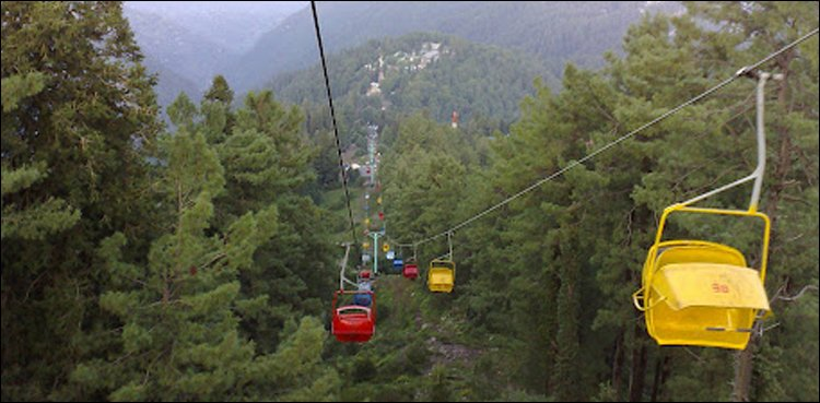 Ayubia chairlift closed