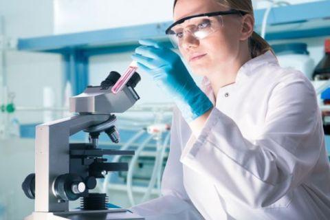 female scientist at work 160114