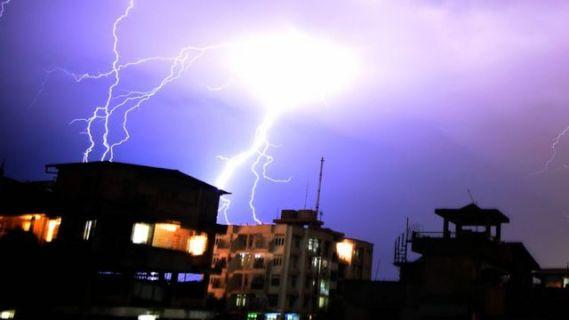 بٹ گرام میں آسمانی بجلی