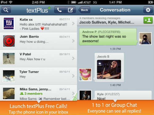 10 Apps for Free SMS Text Messaging from iPhone & Android