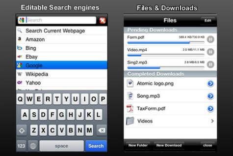 atomic iOS browser