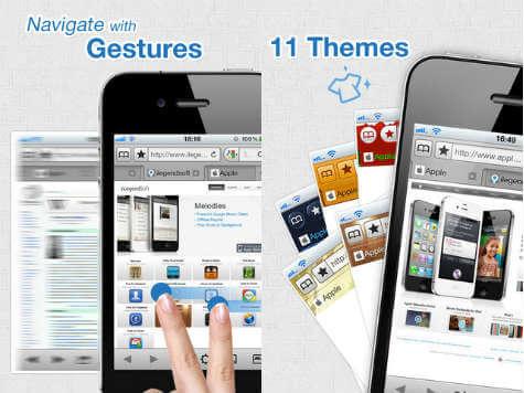 mercury iOS browser