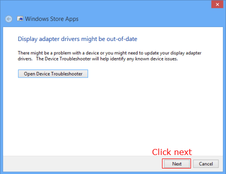 windows 8 apps diagnose