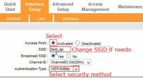 bsnl modem wireless