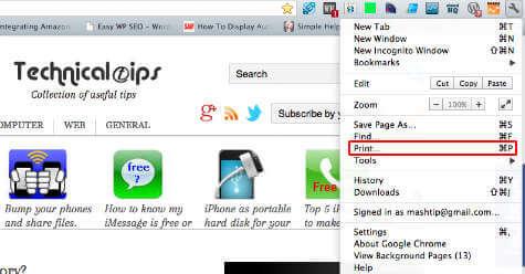 As chrome how to webpage pdf