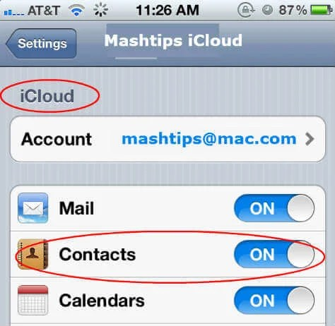 how to backup iphone contacts to icloud how to backup iphone contacts to computer mashtips 19840