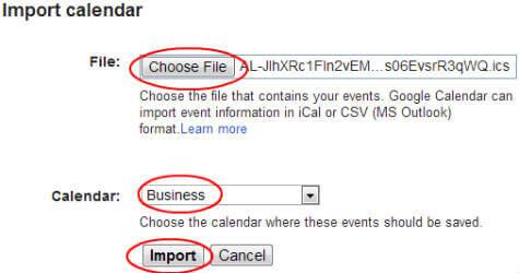 google-import