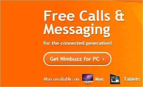 phone call pc nimbuzz