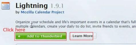 calendar thunderbird 3a