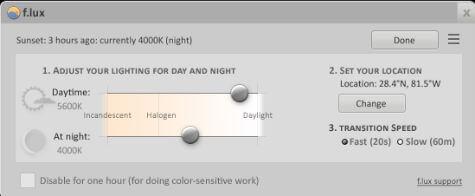 Night Shift Feature Windows