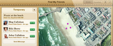 How to Track Friends Using iPhone or Android  | Mashtips
