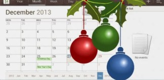 Android Holiday Calendar