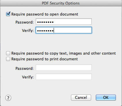 how to change to pdf file on mac