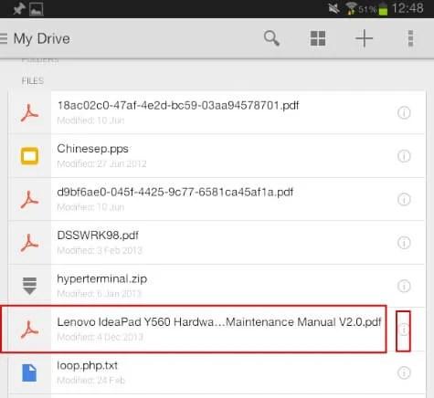 Google drive local