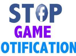 facebook stop game notifications