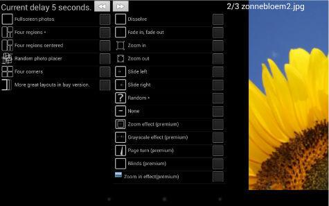 Digital Photo Frame Web app