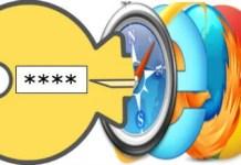 browser password
