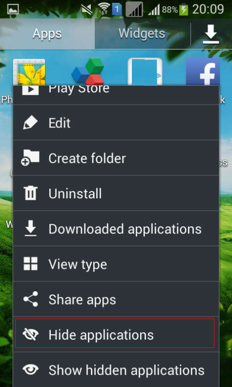 How to Hide Unwanted Apps from Android Screen without
