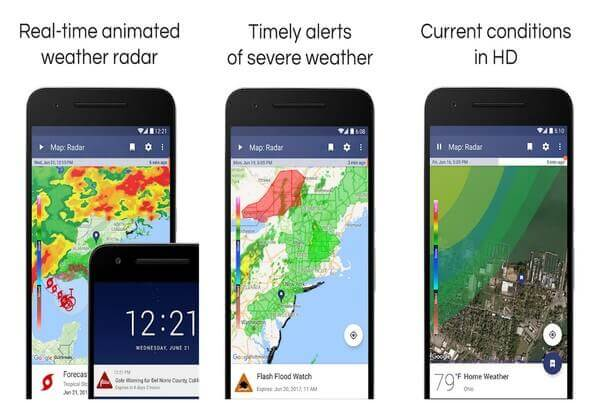 Noaa weather station app android