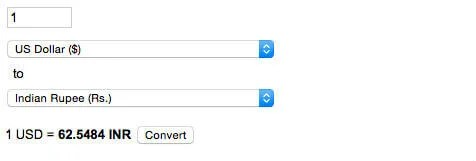 Google Finance Converter
