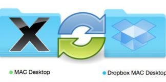 sync mac desktop to dropbox
