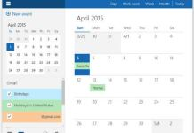 windows10 google calendar