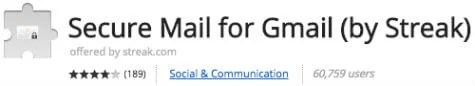 secure gmail chrome extension