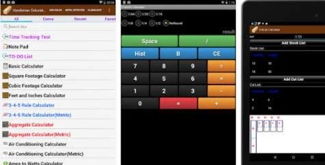 Handyman Calculator