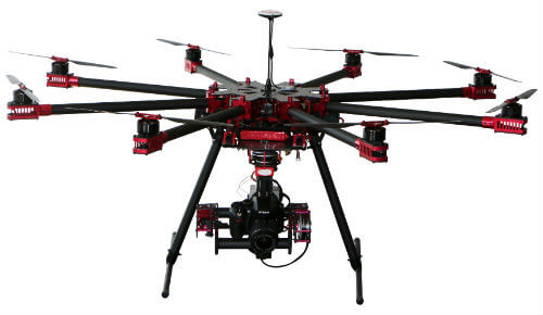 Professional drone features