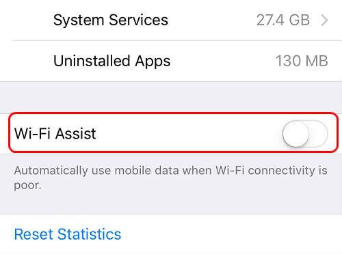 ios wi-fi assist