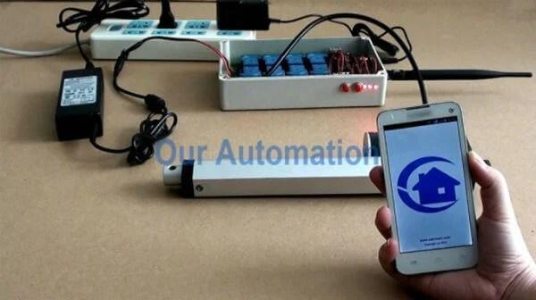 linear actuator app