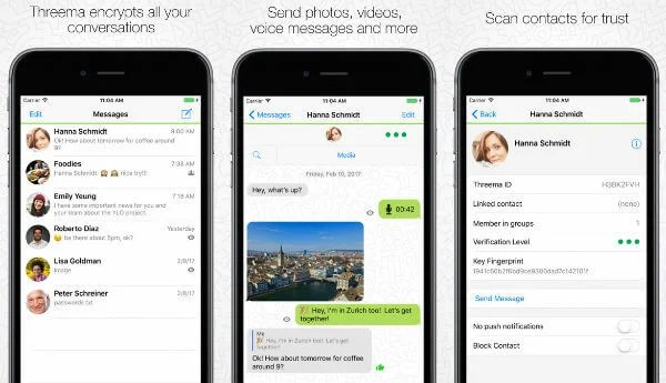 9 Best Secured Messaging Apps for iPhone users to keep