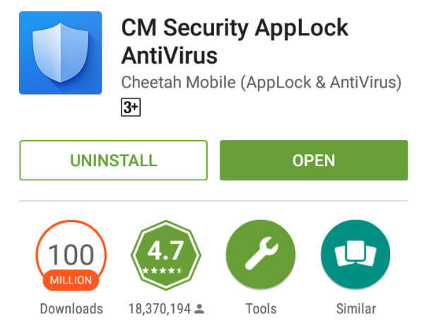 CM Security App