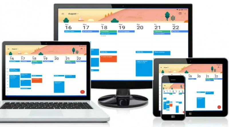 Calendar Design Mac : How to share sync common calendar on iphone android pc