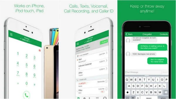 Best 7 iPhone Second Phone Number Apps to Hide Primary Number