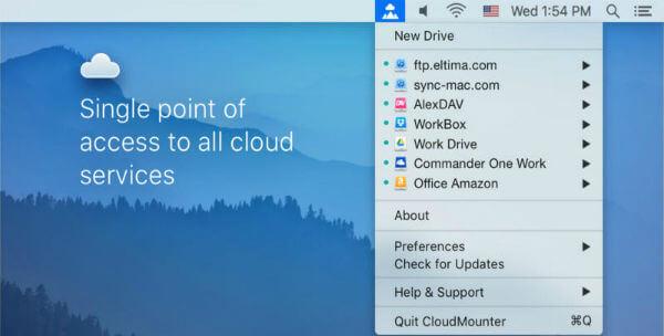 cloudmounter-task-menu