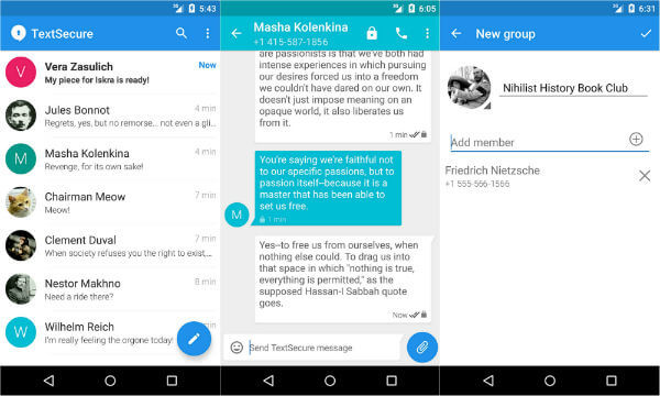 8 Most Secured Messaging Apps for Android Users to Stay