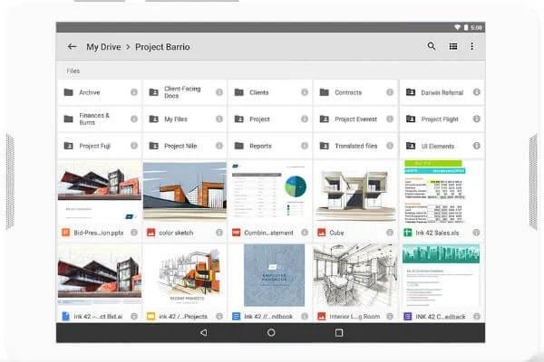 G Suite Google Drive