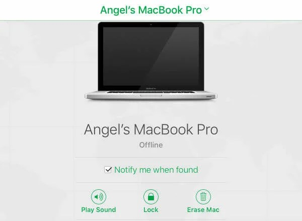 Angels MAC Stolen