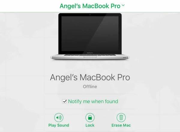 Angels MAC Stolen