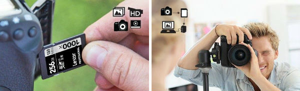 memory card for camera