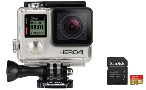 memory cards for GoPro