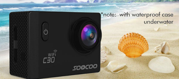 SOOCOO C30 4K Action Camera