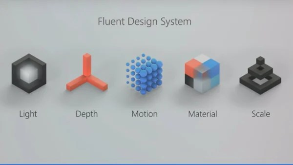 Windows 10 Fall Creators Update Fluent Design