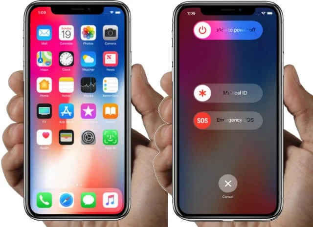iPhone X Emergency SOS