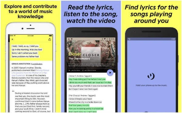 Best mobile app for putting music to lyrics