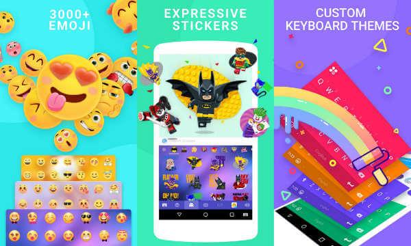 Emoji keyboard - Cute Emoticons GIF Stickers